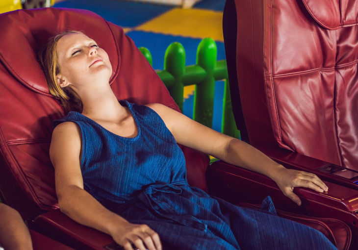 Massage Chair – While You Wait