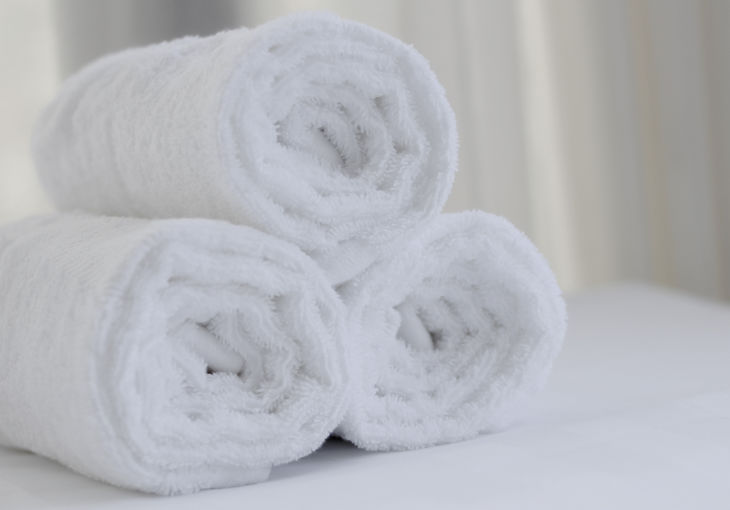 Warm Scented Towel